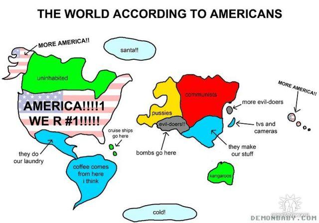 Cum arata lumea dupa parerea americanilor